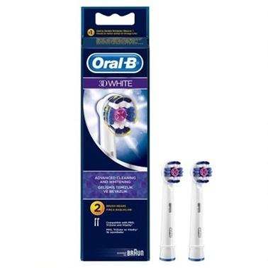 Oral-B Yedek Başlık Pro White 2 adet Renkli